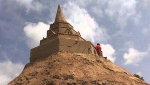 Größte Sandburg der Welt St. Peter-Ording