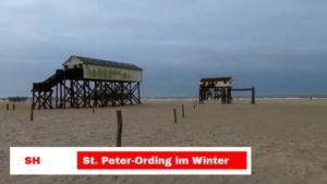 St. Peter-Ording im Winter – Keine St Peter Ording Kurtaxe